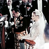 Prince Rainier III and Grace Kelly