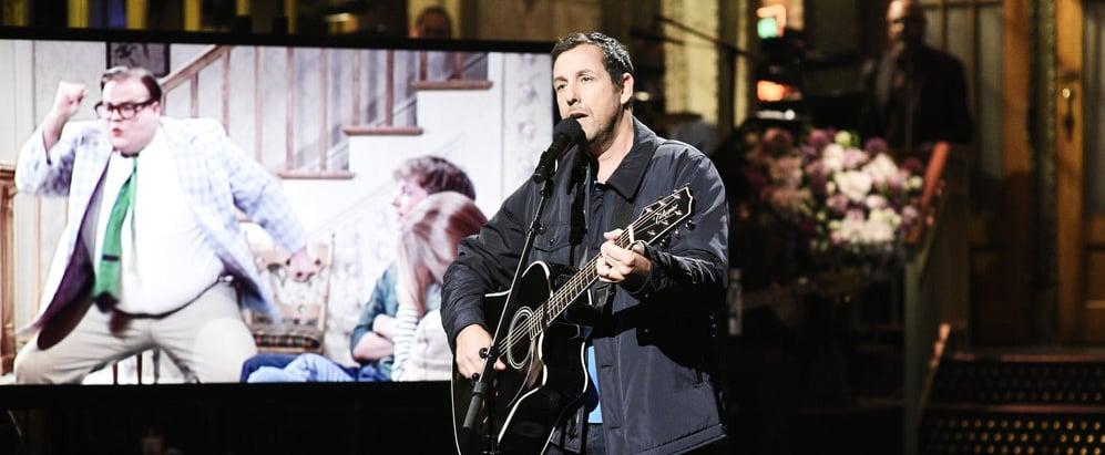 Adam Sandler's Chris Farley Song SNL Video May 2019