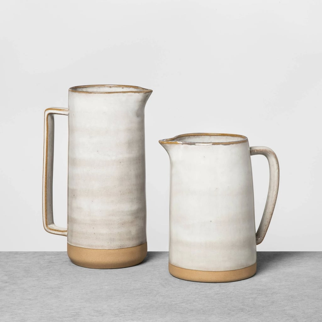 Stoneware Pitcher in Gray