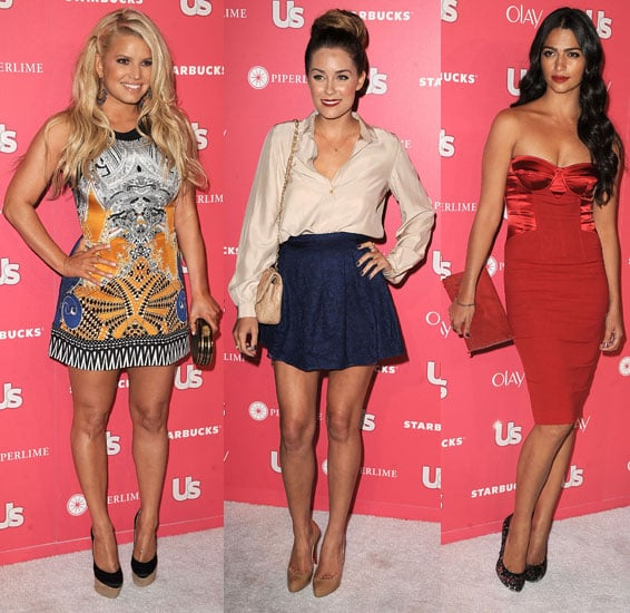 Jessica Simpson, Lauren Conrad and More at Us Weekly's Hot Hollywood Party 2011-04-27 14:12:21