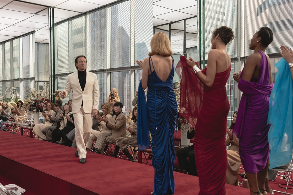Compare the Costumes in Netflix's Halston to Real-Life Style