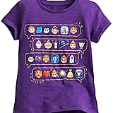 Disney Beauty and the Beast Emoji Tee for Girls ($17)