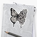 Shawn Mendes Butterfly Sticker