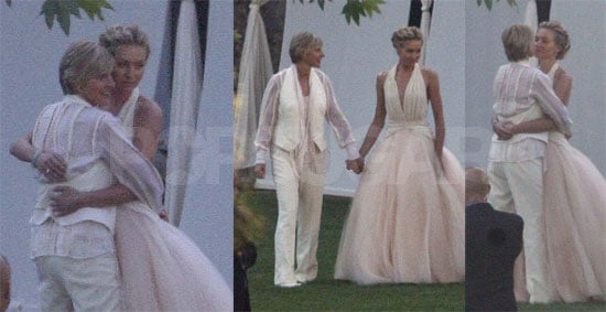 Photos of Ellen DeGeneres, Portia de Rossi on their ...