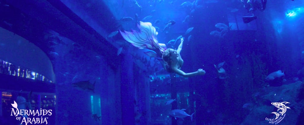 This Dubai Mall Attraction Allows You to Come Face-to-Face With Mermaids