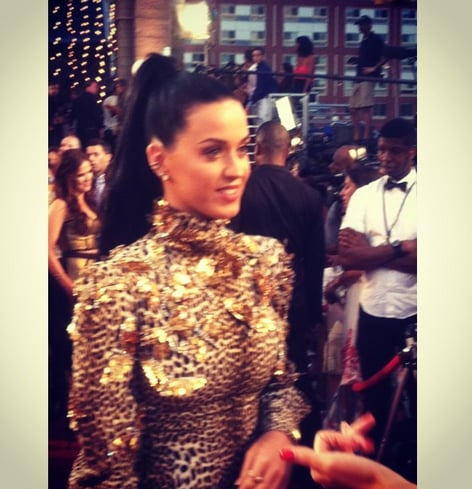 "We agree with MTV when it says Katy Perry's a sight to ""behold."" Source: Instagram user mtvstyle"