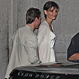 Tom and Katie Out in Brazil
