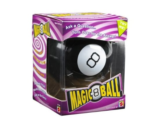 Make Up Her Mind With a Magic 8 Ball