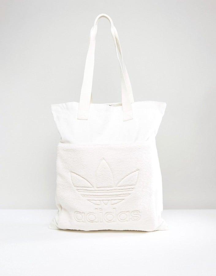 5126993f6d ... Adidas Cream Fleece Shopper Bag  adidas Originals x Porter Boston Bag .