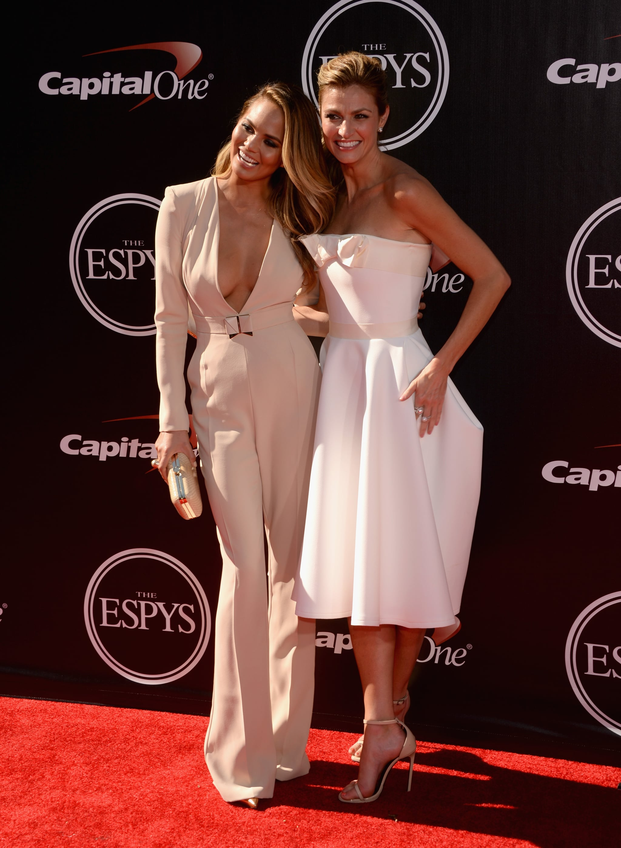 Chrissy Teigen and Erin Andrews