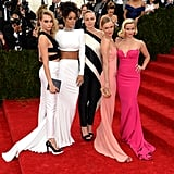 Attending the event with her designer pal, Rihanna, Cara Delevingne, Kate Bosworth, and Reese Witherspoon all posed in Stella McCartney creations.