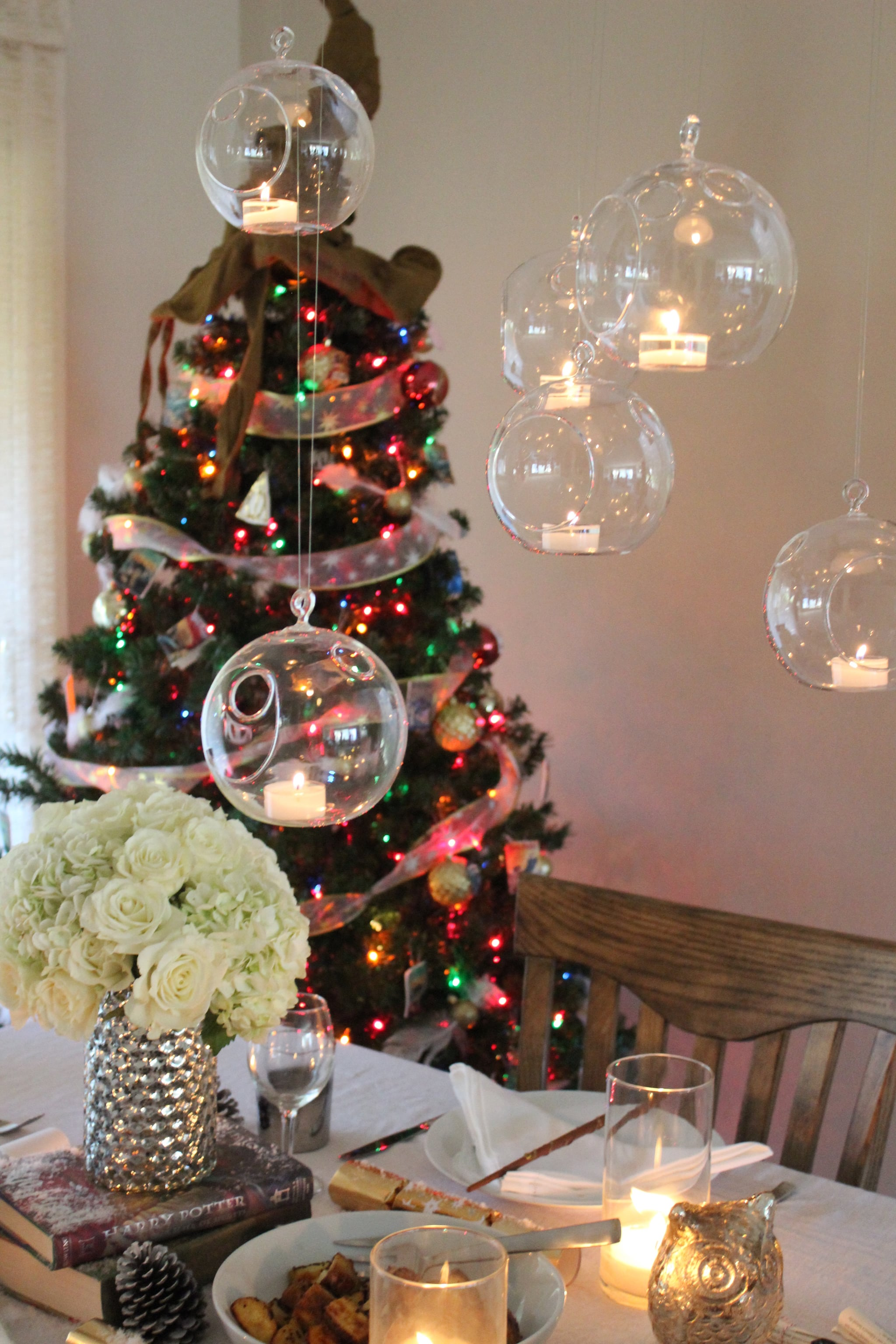Christmas Floating Candles.Hang Floating Candles That You Ll Never Want To Take Down