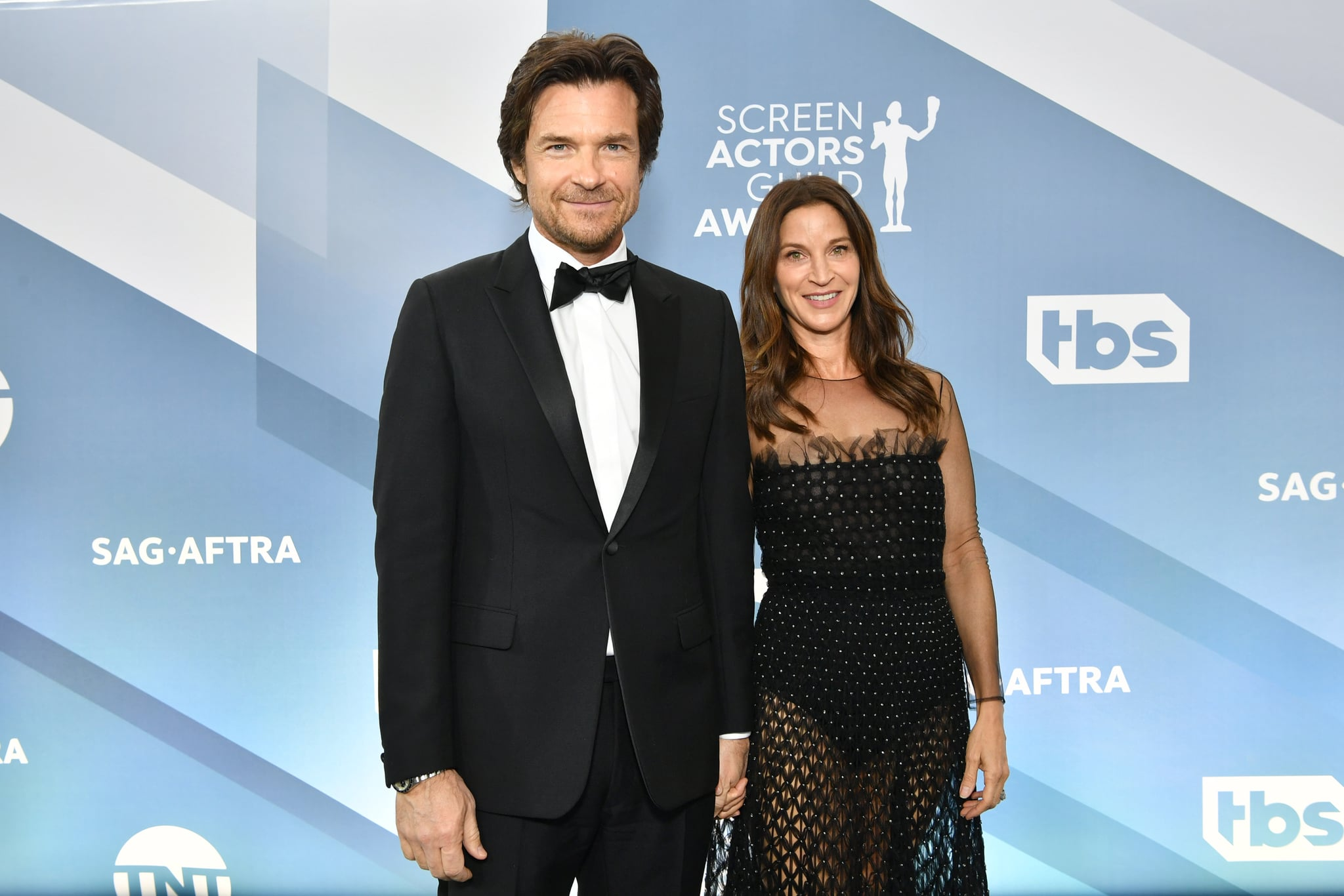 LOS ANGELES, CALIFORNIA - JANUARY 19:  (L-R) Jason Bateman and Amanda Anka attend the 26th Annual Screen Actors Guild Awards at The Shrine Auditorium on January 19, 2020 in Los Angeles, California. (Photo by Amy Sussman/WireImage)