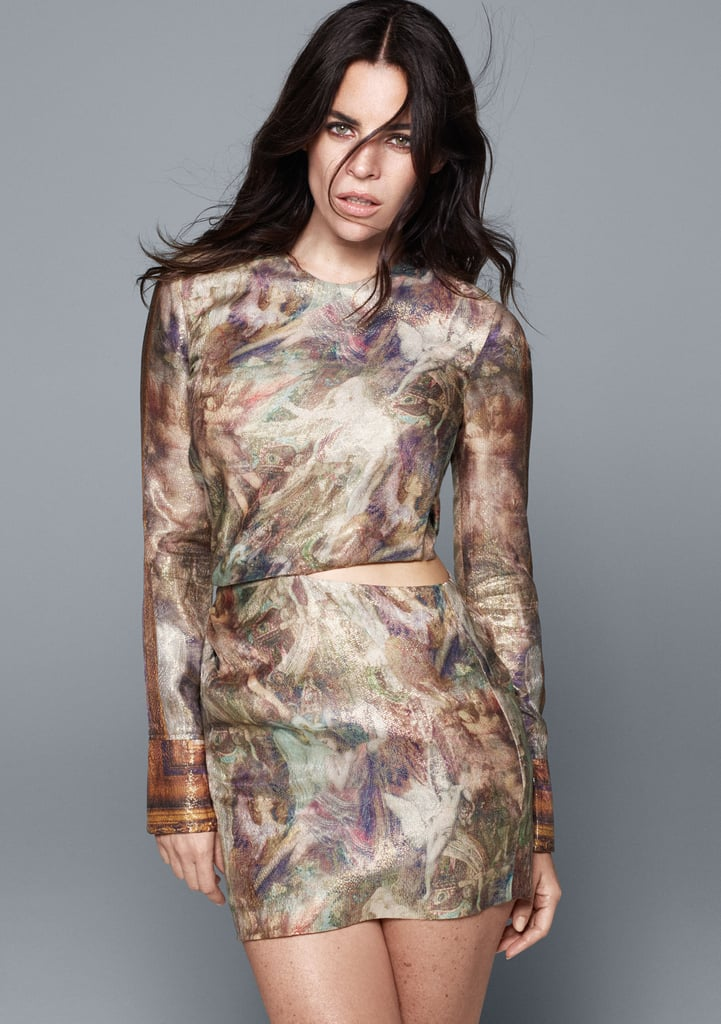 H&M Conscious Collection Lyocell and Silk Dress ($100)