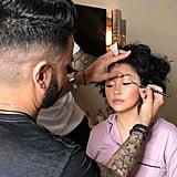 Lana Condor Makeup and Hair at Met Gala 2019