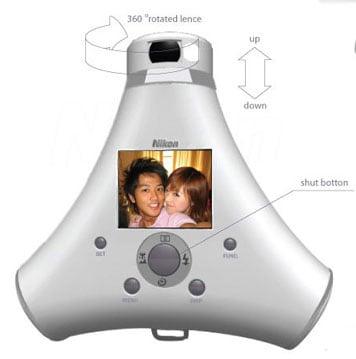 Cool Concept: Nikon 360 Degrees Digital Camera