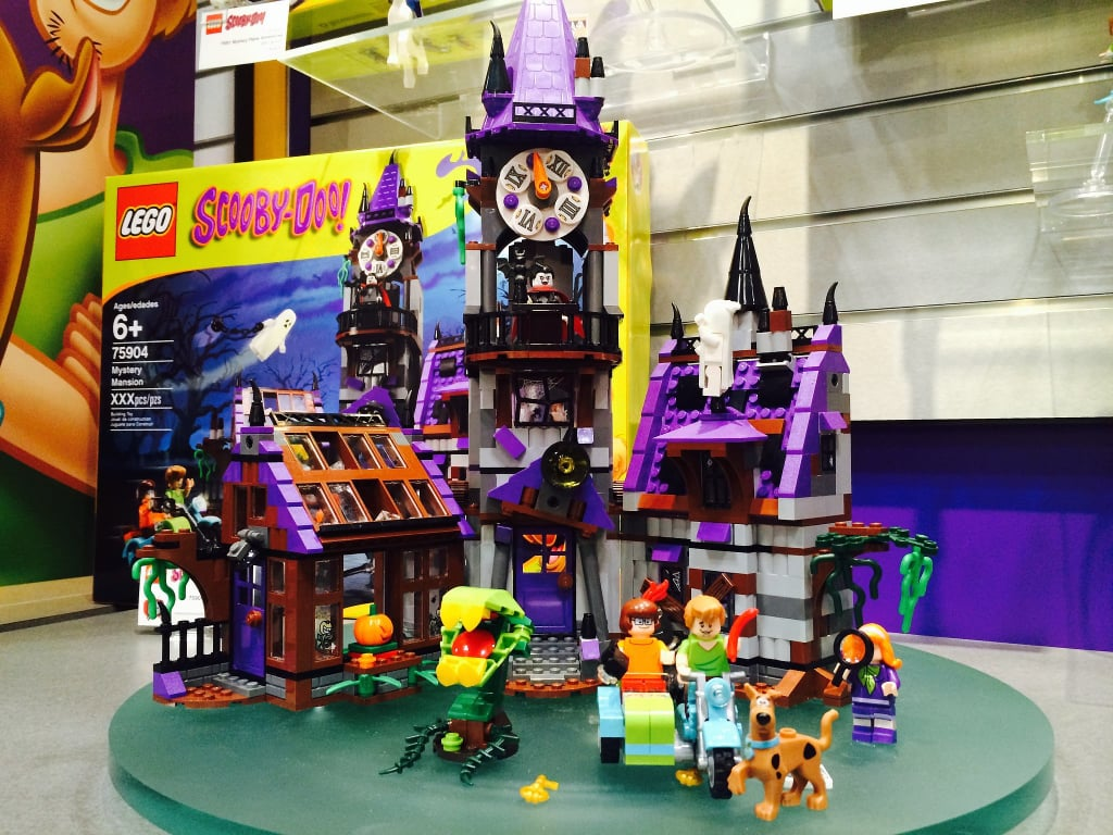Best Scooby Doo Toys For Kids : Lego scooby doo mystery mansion best new sets