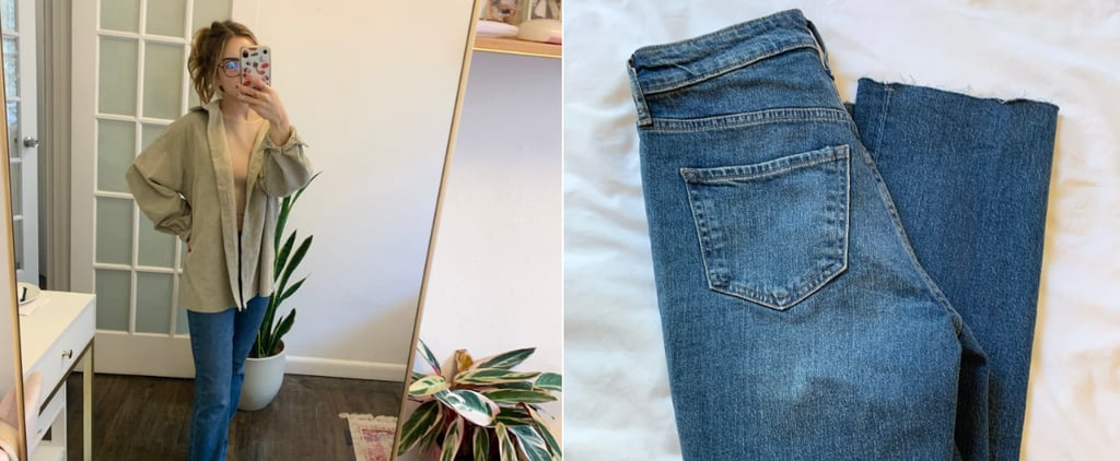 Old Navy High-Waisted Kicker Bootcut Ripped Jeans Review