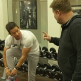 James Corden Tries Mark Wahlberg's 4am Workout Routine Video