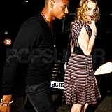 Madonna and Brahim headed out on a romantic date.