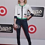 Emma Roberts struck a pose at The Shops at Target launch party in NYC.