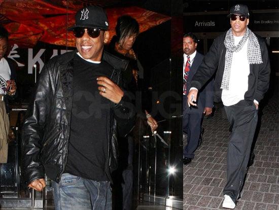 Photos of Jay-Z at Katsuya in LA After Visiting London