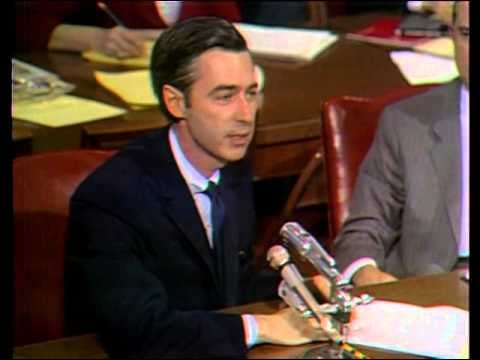 Mr. Rogers Speaking to the Senate Video