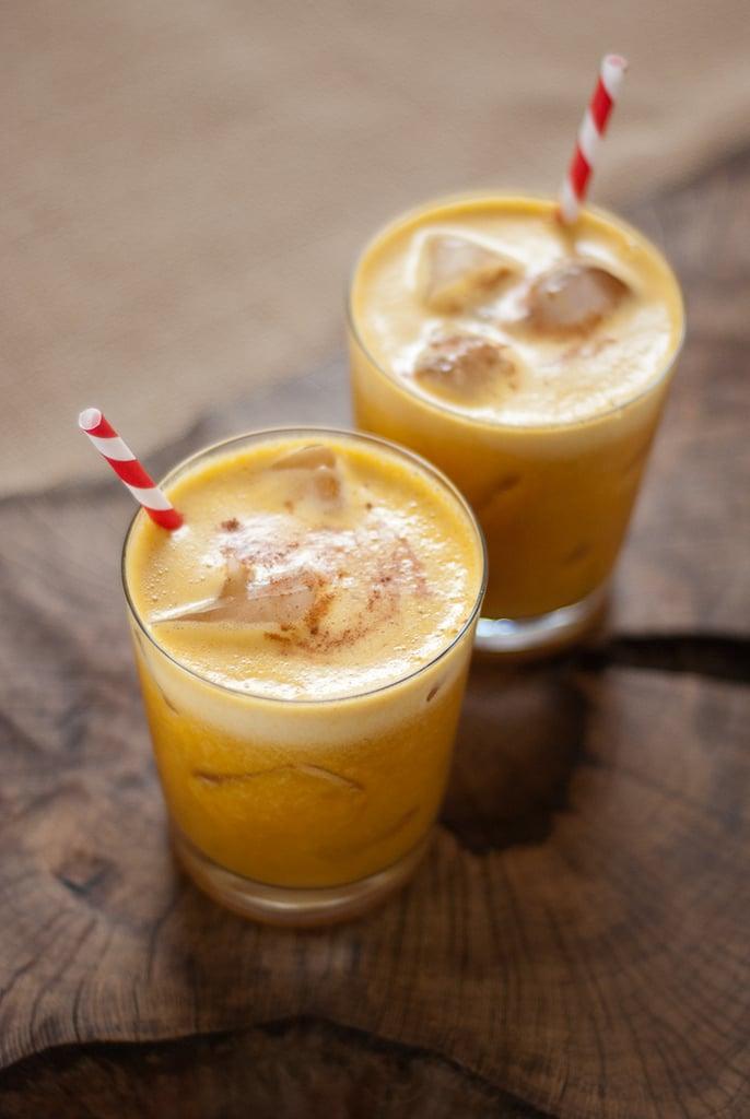 Pumpkin Pineapple Cocktail