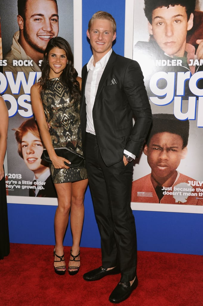 Alexander Ludwig posed with Nicole Pedra. | Grown Ups 2 ...