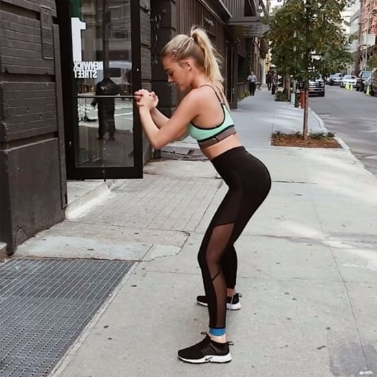Bum Exercise With Resistance Band