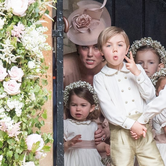 Page Boy Posing at Pippa Middleton's Wedding 2017
