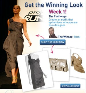On Our Radar: Project Runway and Bluefly Team Up