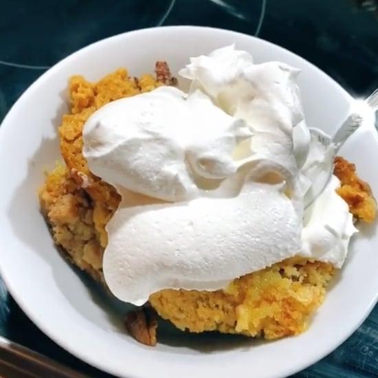 Pumpkin Spice Dump Cake Recipe   TikTok Videos