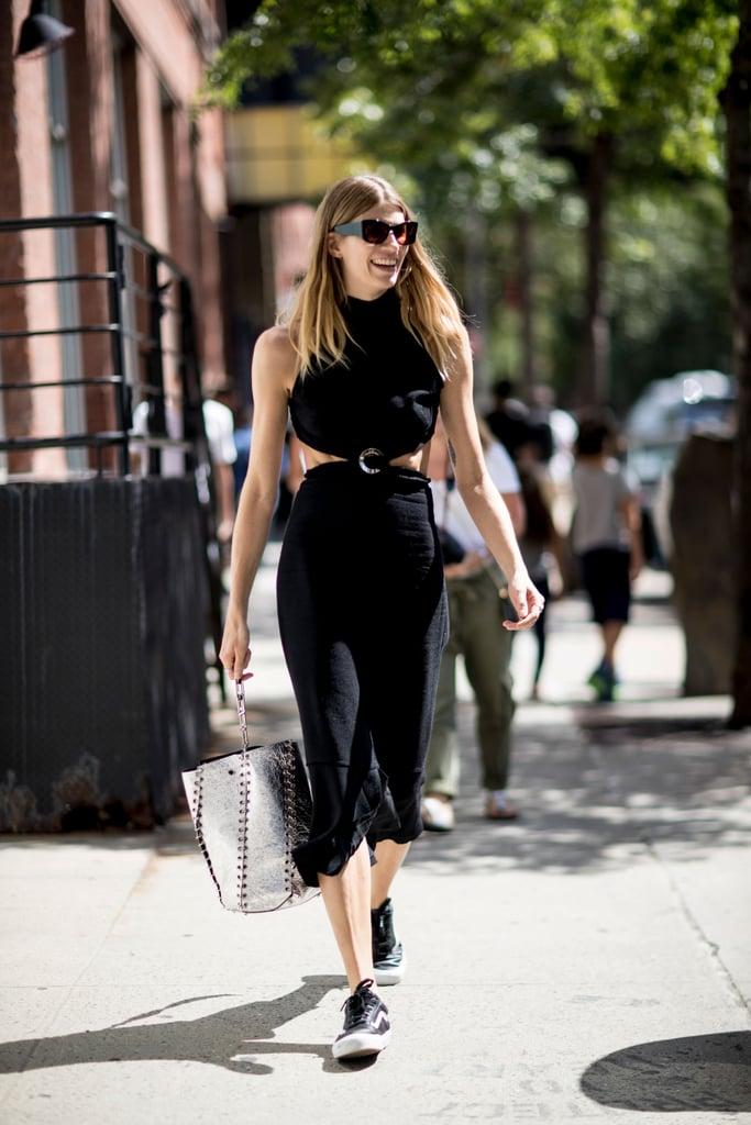 Veronika Heilbrunner at New York Fashion Week Spring 2017