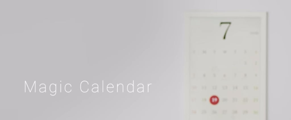 Magic E-Ink Calendar