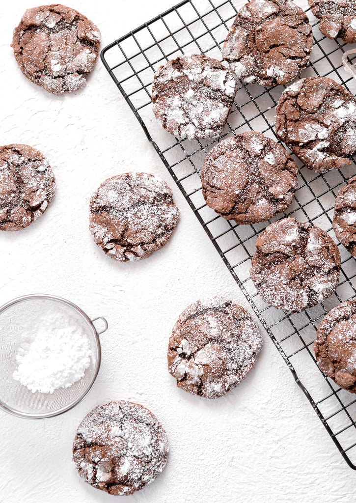 Grandma's Chocolate Crinkle Cookies