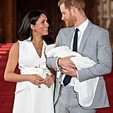 New-Parents Prince Harry and Meghan Markle