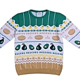 All Natural: Avocado & Hummus Christmas Jumper