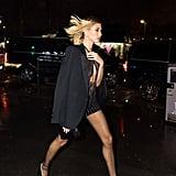 Hailey Bieber's Street Style at Paris Fashion Week