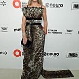 Heidi Klum at the 2020 Elton John AIDS Foundation Academy Oscars Party