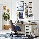 Stone & Beam Barrett Reclaimed Wood 6-Drawer Desk