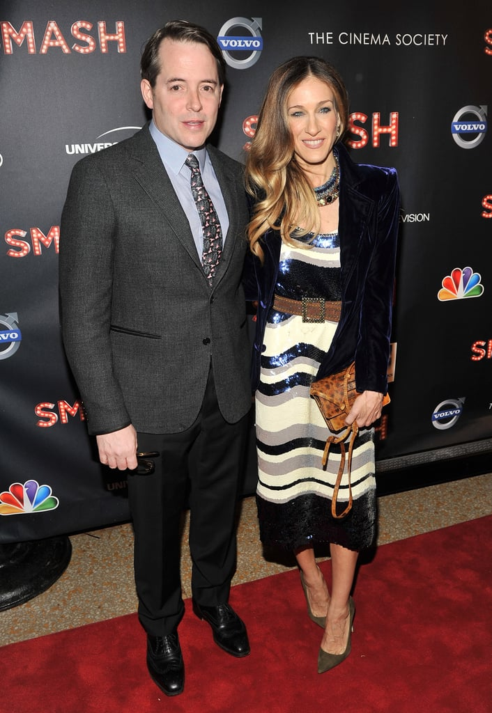 Matthew Broderick and Sarah Jessica Parker hit the red carpet.