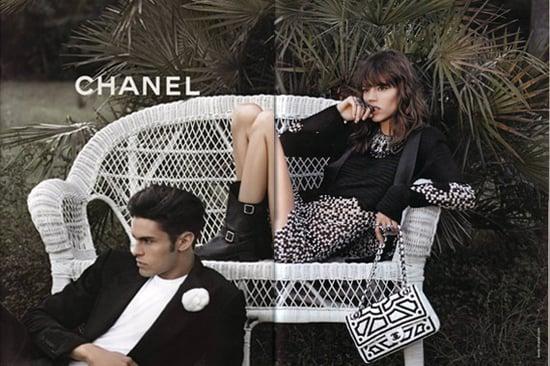 Freja Beha Erichsen Fronts Chanel Spring 2011 Ad Campaign