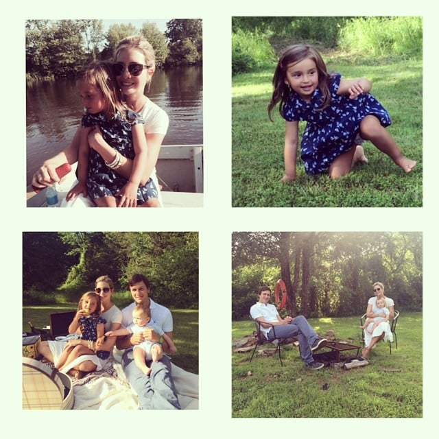 "Ivanka Trump shared a few photos from the Kushner family Father's Day celebration. She wrote, ""Celebrating the greatest father in the world with a surprise picnic and some row boating! #fathersday."" Source: Instagram user ivankatrump"