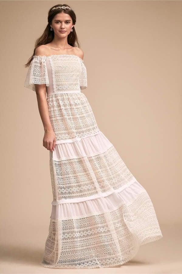 BHLDN Shiloh Dress   Best Beach Wedding Dresses   POPSUGAR Fashion ...