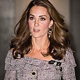 Kate Middleton Plaid Erdem Dress October 2018