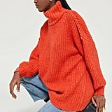 UO Gemini Turtleneck Tunic Sweater