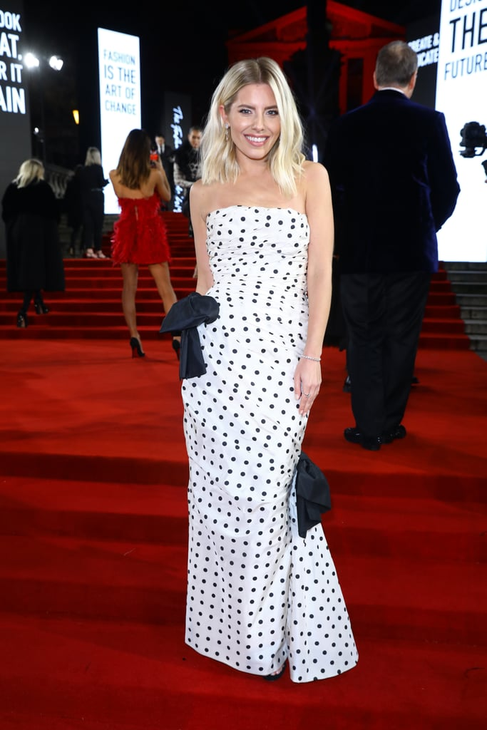 Mollie King at the British Fashion Awards 2019 in London