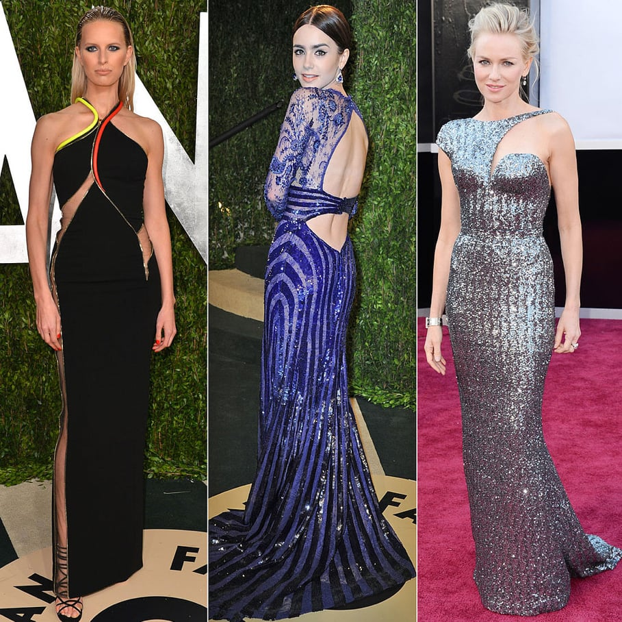 Featuring everything from neon accents to strategic cutouts, these are the sexiest dresses from Oscar night.