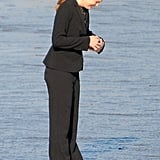 Jennifer Garner on Set of The Tribes of Palos Verdes